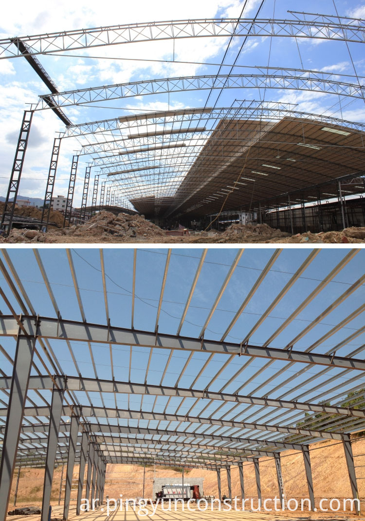 Structure of PVC roofing sheet