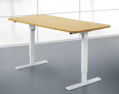 2017 Hot Sell Height Adjustable Table with Workstaton
