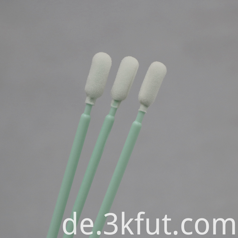 165mm Long foam swabs