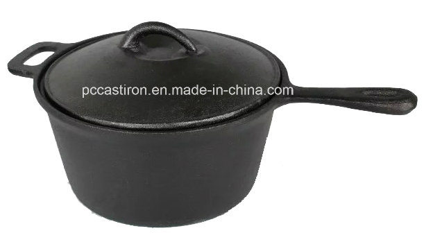 China Cast Iron Camping Cookware Factory Supplier Dia 27cm