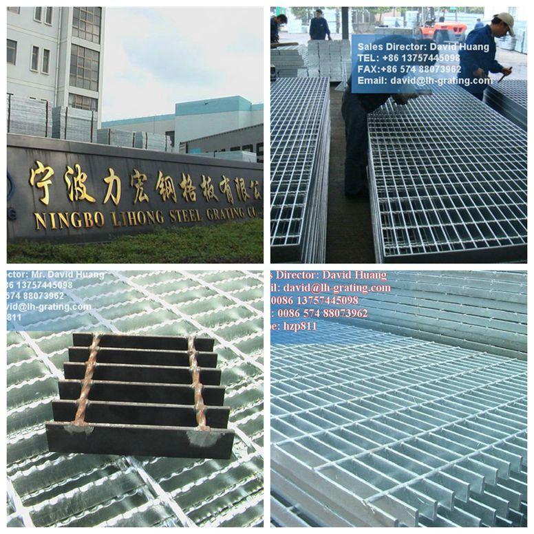 Hot DIP Galvanized Bar Grating for Platform Floor and Drain Cover