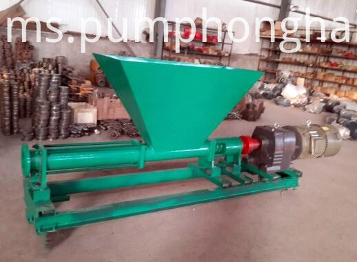 screw pump with open throat