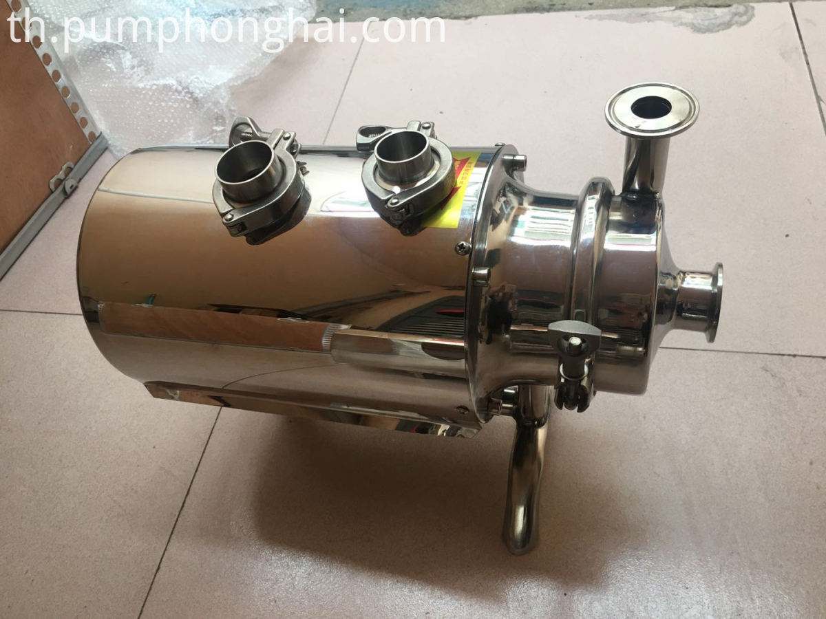 sanitary milk pumps