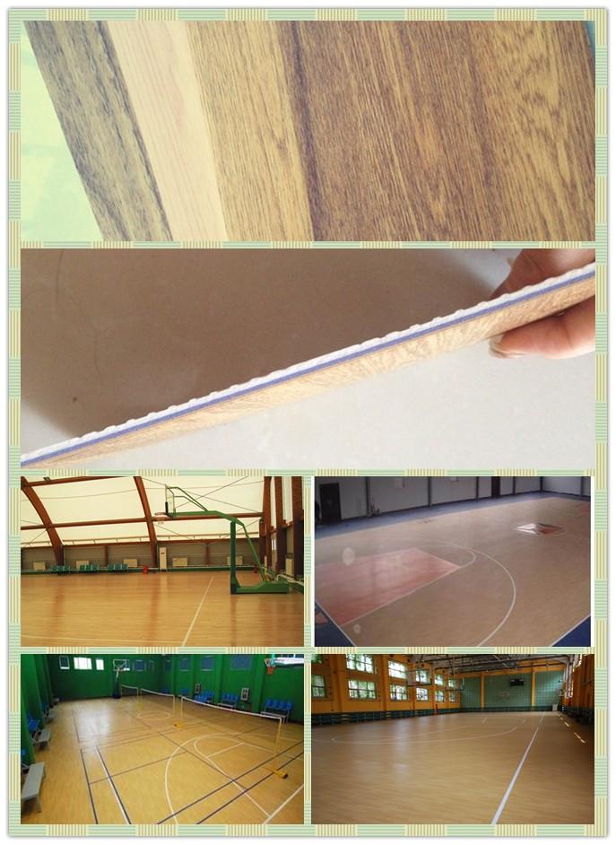 PVC Flooring for Basketball Court