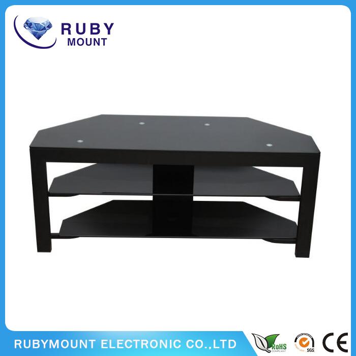 Corner Design 50 Inch Black TV Stand Cheap