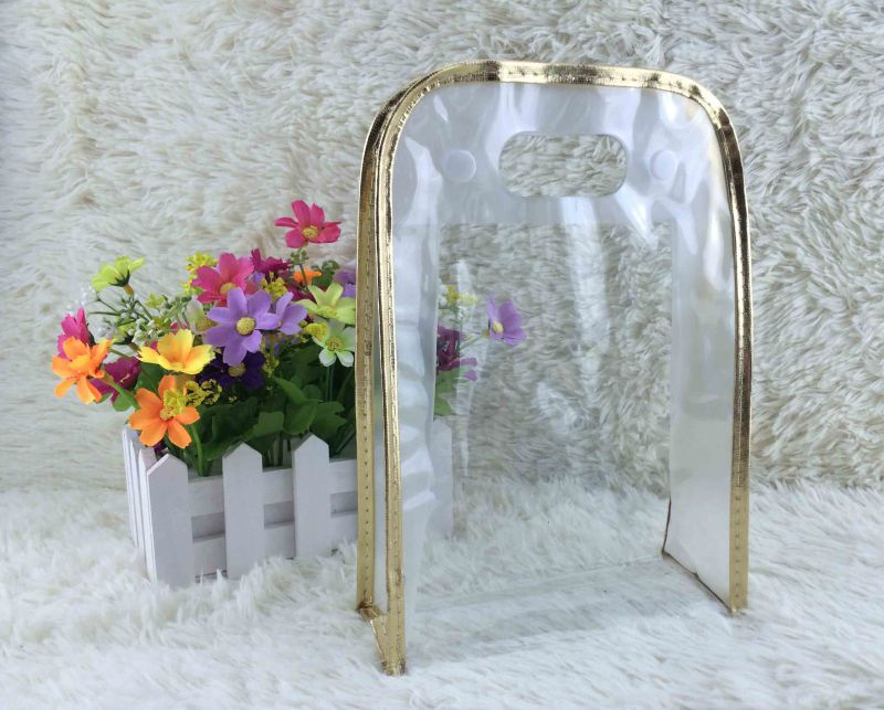Makeup Bags with Clear PVC Zipper for Cosmetic