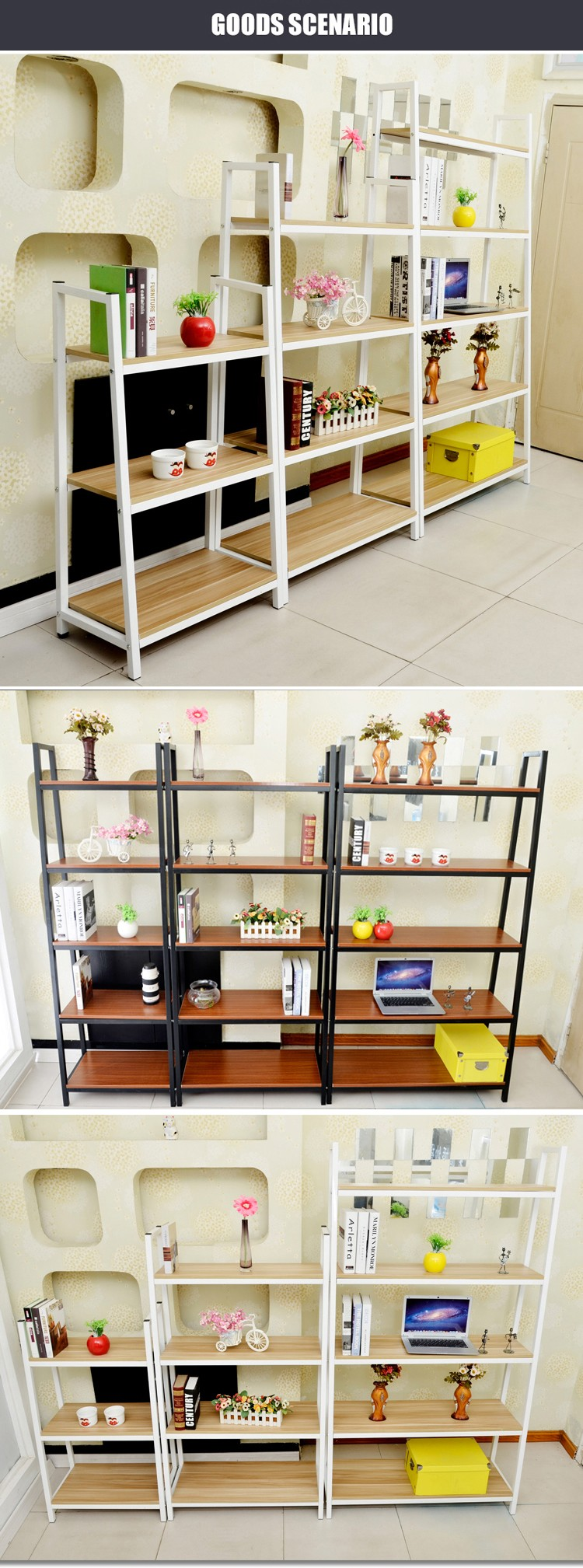 book shelf storage rack