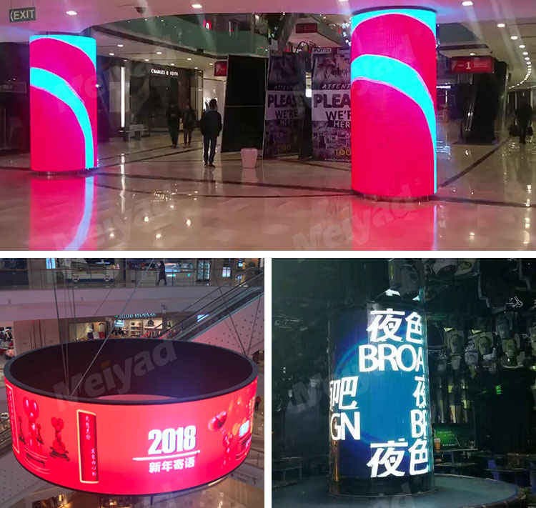 P4 Indoor Flexible LED Screen