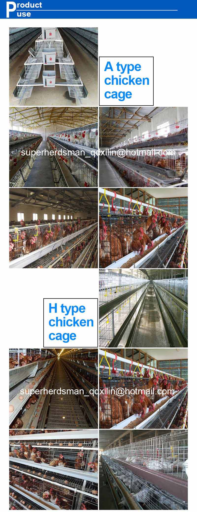 Layer Chicken Battery Cage Cages for Chicken Layer