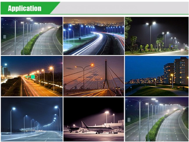 Good Price 100W LED Street Light 10000lm 10kv Surge Protection