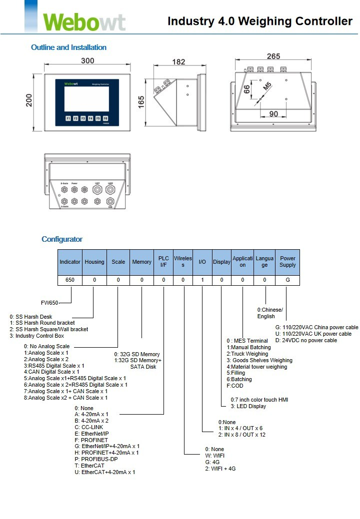 Weighing Scale Terminal