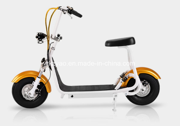 2016 Most Fashionable Smart Harley Electric Scooter Citycoco Scooter Two Big Wheels for Cool Sports Small Harley Scooter
