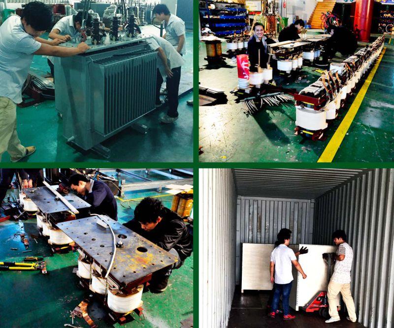 1000kVA Three Phase Transformer 11/0.415kv Oil Immersed Power Transformer