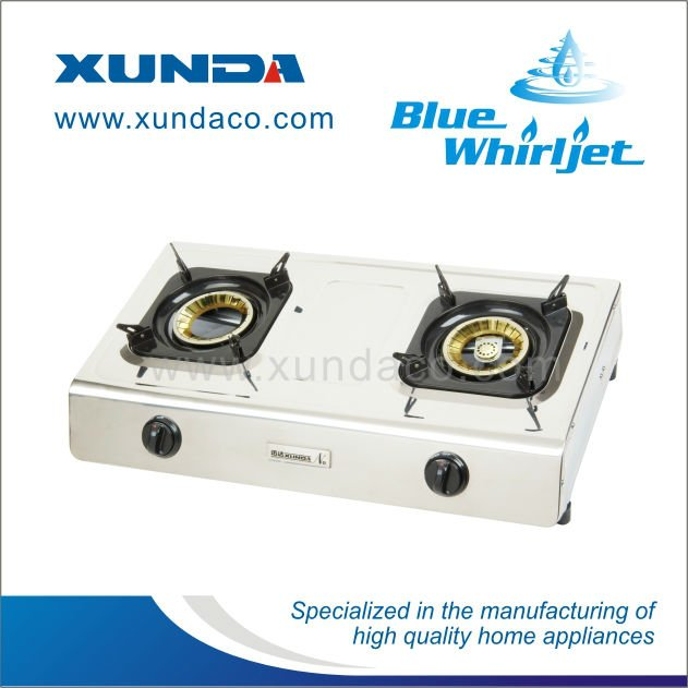 90mm Double Burner Gas Cooker