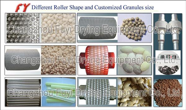 DG350 Potassium chloride Double Roller Fertilizer Granulator