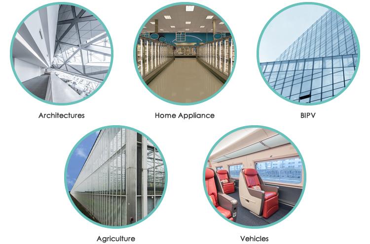 Landvac USA Hot Sale Thin Vigu Vacuum Glass for Tempered Glass Screen Protector
