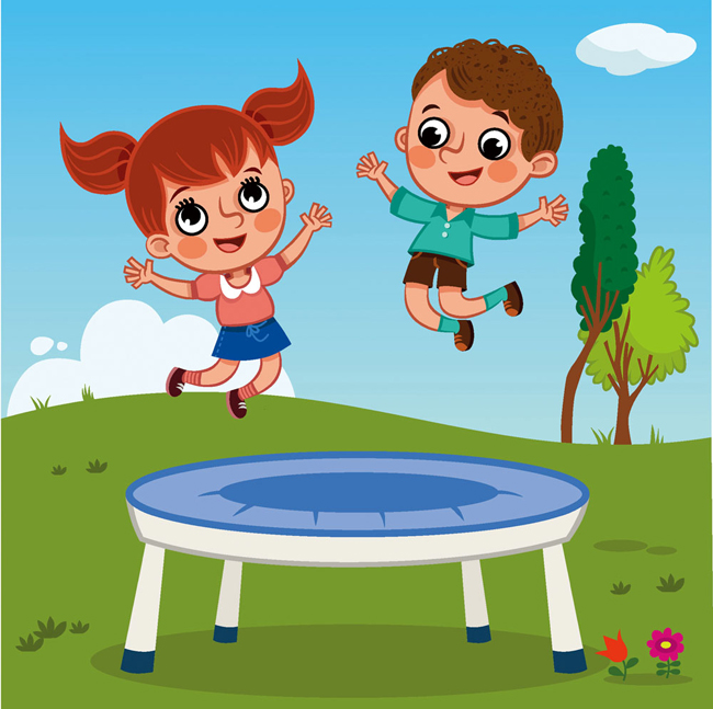 Biggest Cheap Jumping Square Trampolines Equipment for Sale