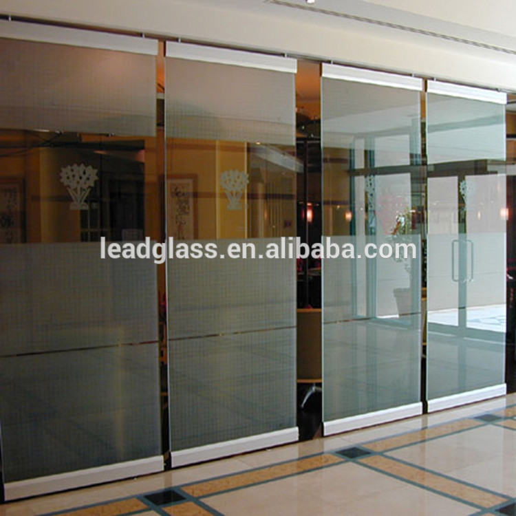 Tempered Frosted Glass for Room Divider