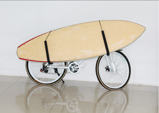 surfboard bike rack