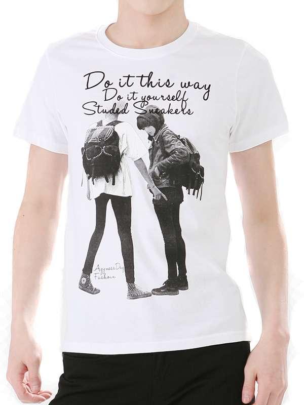 Top Quality Fashion Custom Design Cotton Men T Shirt