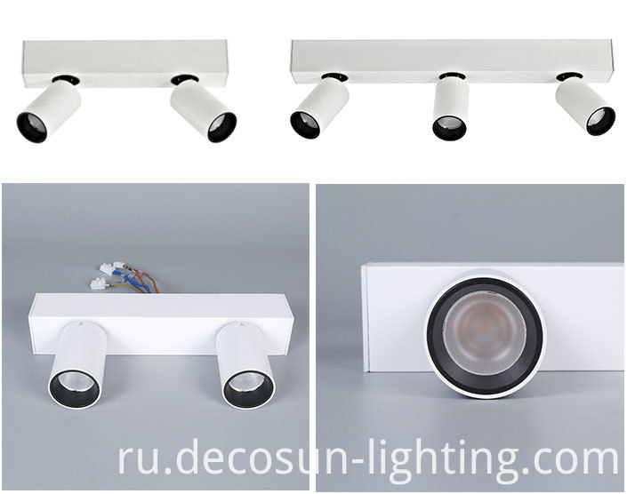 surface mounted track light