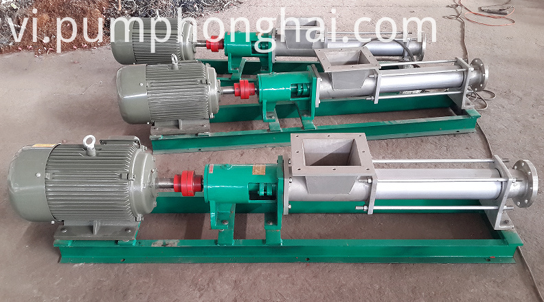 Small Sludge Mud Screw Pump