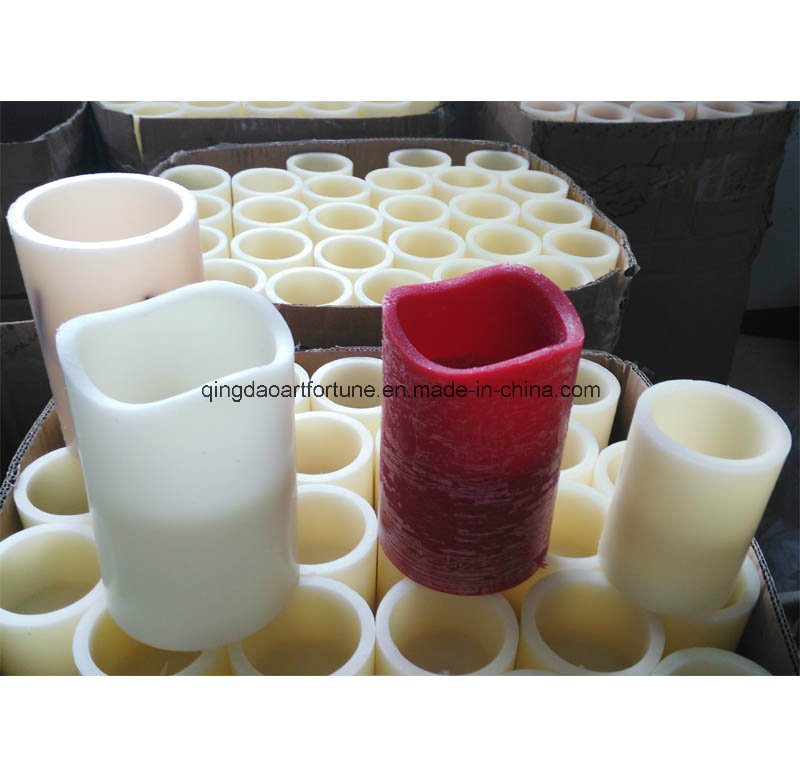Melted Mouth LED Wax Candles for Home Outdoor Decor