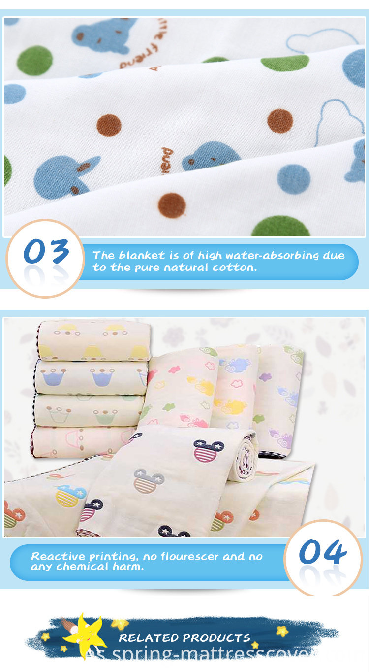 Baby Crib Sheets Cotton