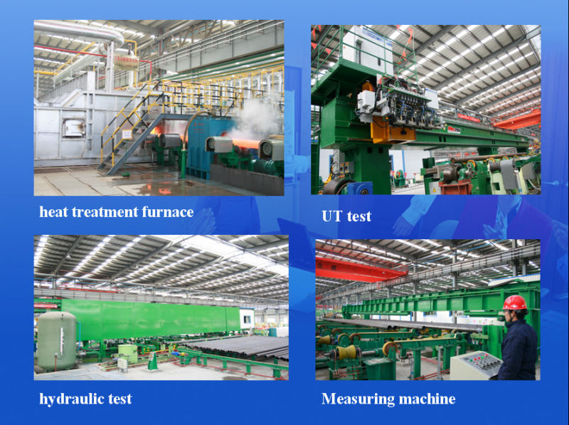 Pipe/Steel Pipe/Alloy Steel Pipe/ ASTM Pipe/Linepipe/Carbon Pipe