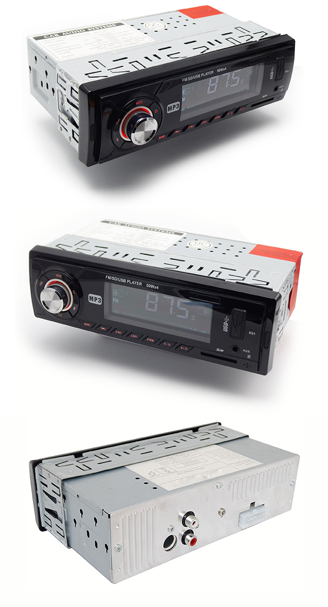 Fixed Panel Car MP3 Player with Short Cabinet