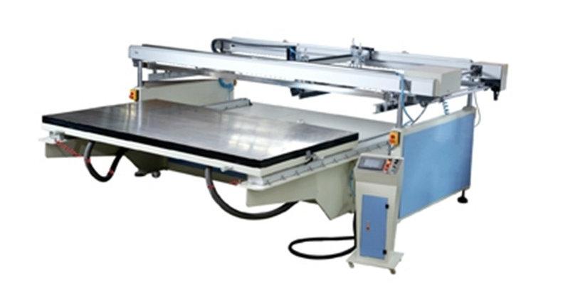 Tmp-120240 Large 4-Pillar Semi Automatic Glass Screen Printer