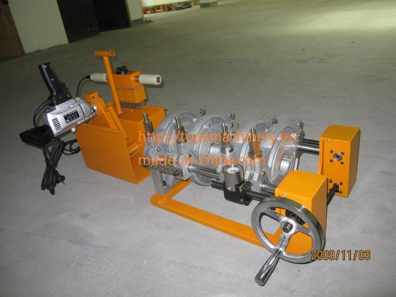 CE Approved Manually HDPE Pipe Heat Fusion Butt Welding Machine