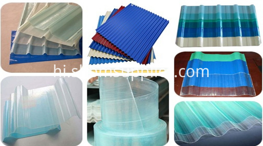 FRP Transparent Roofing Sheet