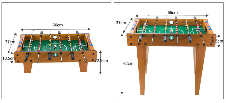 foosball tabletop game set