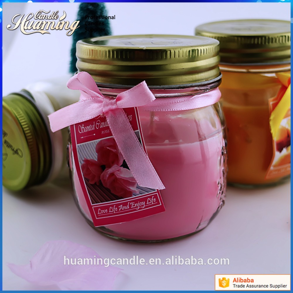 scented jar candles cheap