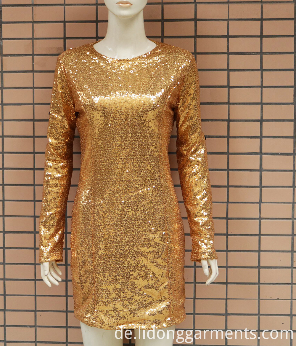 Tight Sequins Dress