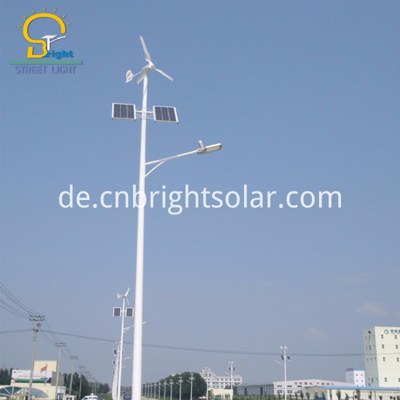 BR Solar Street Hot-Dip Galvanized Pole