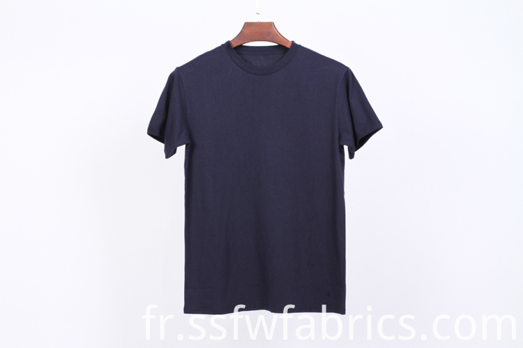 Short Sleeve Plain Tee Shirt