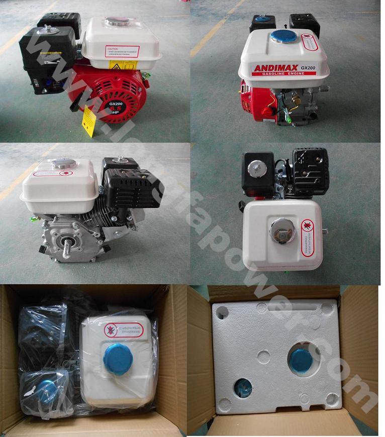 5.5HP Honda Model Gx160 168f Ohv Gasoline Engine or Motor