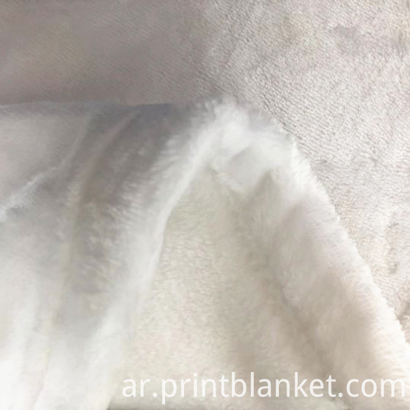 white flannel fleece
