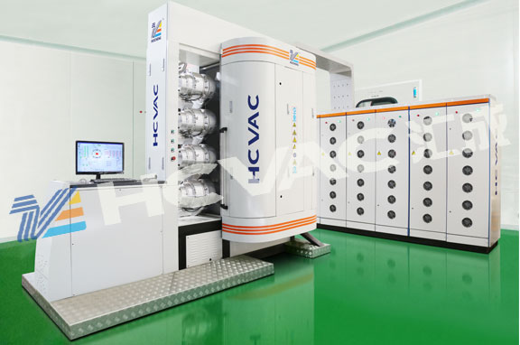 Hcvac Stainless Steel Utensil PVD Gold Plating Machine
