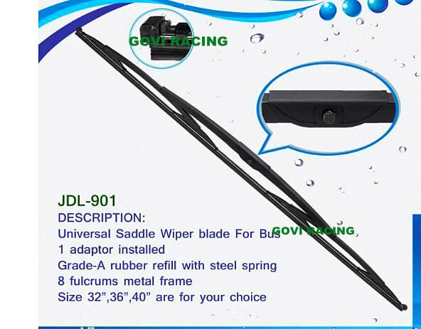 Universal Wiper Blade Windshield Wipers with Steel Spring 16''/17''/18''/19''20''/21'' /22/24'' Chosen