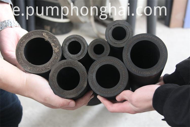 Rubber peristaltic pump hose