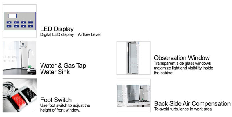 CE Certified Slant Fume Hood with Best Price