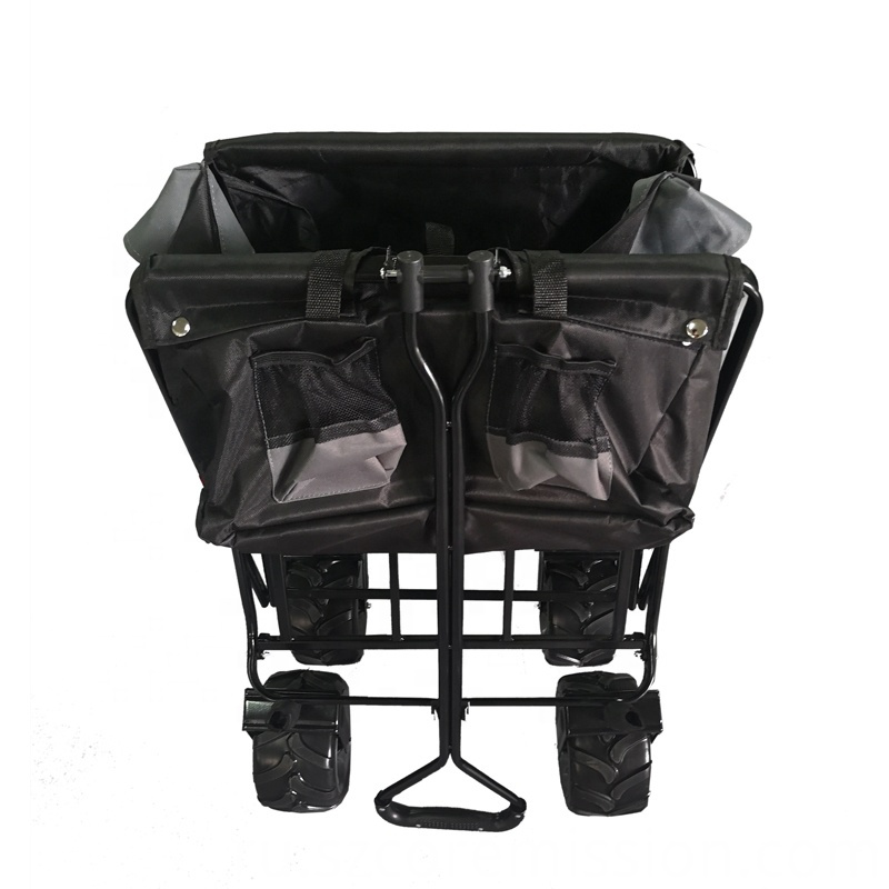Foldable Garden Wagon Trolley Cart