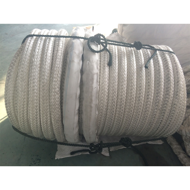 Double-Layer Stranded Fiber Ropes Mooring Rope for Mixed Batch Offshore Operation