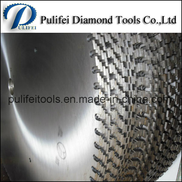 Silver Laser Welded Large Circular Saw Blade for Cutting Stone