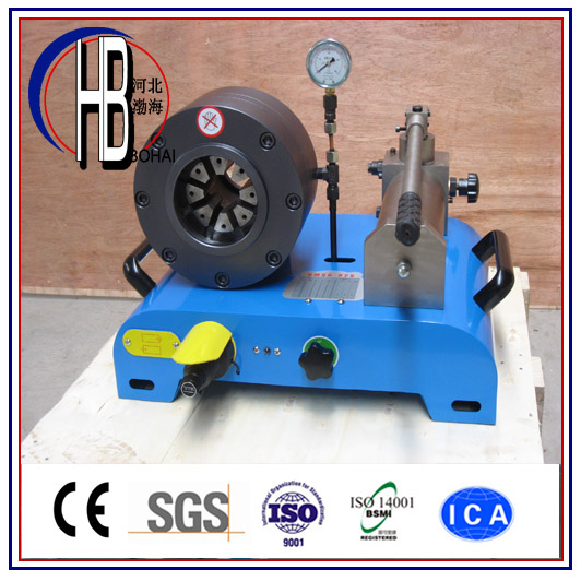 P20HP 1/4''~2'' Hand Portable Manual Hose Crimping Machine with Big Discount
