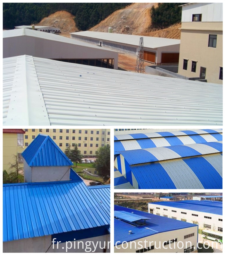 Project of PVC roof tile