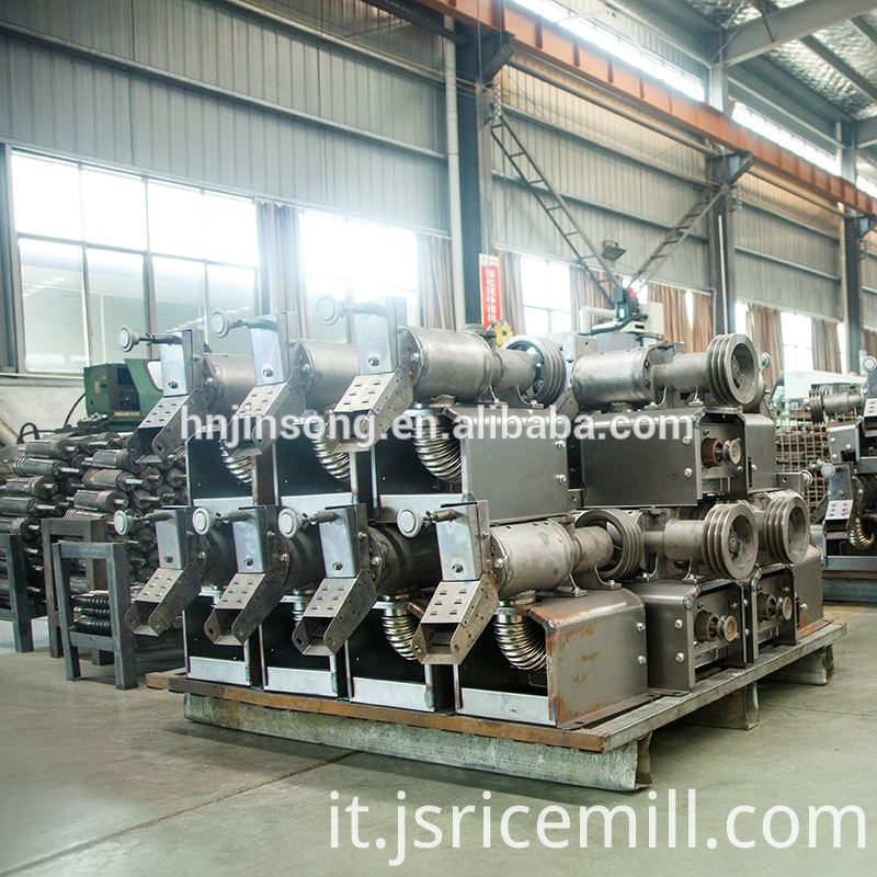 High Quality Mobile Rice Mill Machine